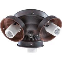 Quorum International Signature 3 Light Fan Light Kit in Toasted Sienna 2303-9044
