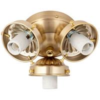 Quorum 2303-9080 Signature 3 Light Incandescent Aged Brass Light Kit