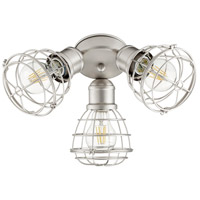Quorum 2314-65 Fort Worth LED Satin Nickel Patio Fan Light Kit