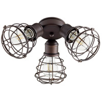 Quorum 2314-86 Fort Worth LED Oiled Bronze Patio Fan Light Kit