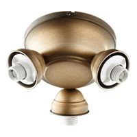 Quorum 2383-9022 Salon 3 Light Antique Flemish Fan Light Kit