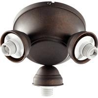 Quorum 2383-9044 Salon 3 Light Toasted Sienna Fan Light Kit