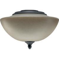 Quorum International Salon 2 Light Fan Light Kit in Toasted Sienna 2386-9144