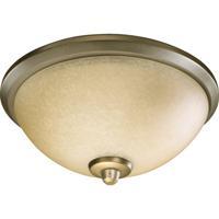 Quorum 2389-9122 Alton 3 Light Incandescent Antique Flemish Fan Light Kit