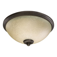 Alton 3 Light Toasted Sienna Fan Light Kit