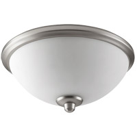 Alton Satin Nickel Fan Light Kit, Satin Opal