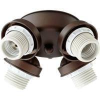 Quorum International Signature 4 Light Fan Light Kit in Oiled Bronze 2401-8086
