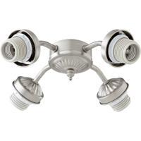 Quorum 2444-8065 Signature 4 Light CFL Satin Nickel Fan Light Kit