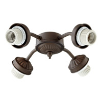 Signature 4 Light CFL Oiled Bronze Fan Light Kit
