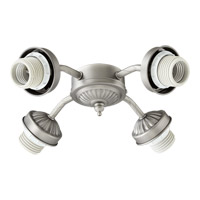 Quorum International Signature 4 Light Fan Light Kit in Antique Silver 2444-8092