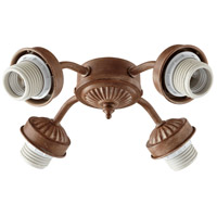 Quorum 2444-8094 Signature 4 Light CFL French Umber Fan Light Kit