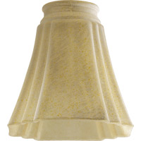 Quorum International Signature Glass Shade in Amber Frost 2469G