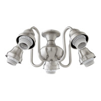 Signature 5 Light CFL Satin Nickel Fan Light Kit
