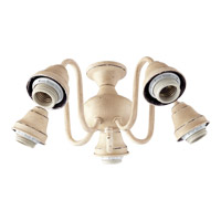 Quorum International Signature 5 Light Fan Light Kit in Persian White 2530-8070