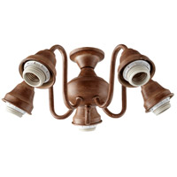 Quorum 2530-8094 Signature 5 Light CFL French Umber Fan Light Kit