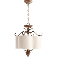 Quorum 2706-18-39 Salento 4 Light 18 inch Vintage Copper Dual Mount Ceiling Light