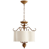 Quorum 2706-18-94 Salento 4 Light 18 inch French Umber Dual Mount Ceiling Light
