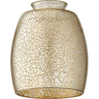 Quorum 2747 Signature Silver Mercury 4 inch Glass Shade