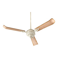 Quorum 27603-70 Brewster 60 inch Persian White with Weathered Pine Blades Ceiling Fan