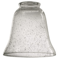 Signature Clear 5 inch Glass Shade in Clear Seeded