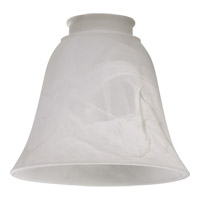 Quorum International Signature Glass Shade in Faux Alabaster 2812