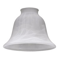 Quorum International Signature Glass Shade in Faux Alabaster 2813