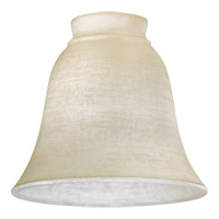 Quorum 2831 Signature Amber Linen 6 inch Glass Shade