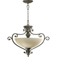 Quorum 2832-26-54 Fulton 3 Light 26 inch Classic Bronze Dual Mount Ceiling Light