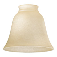 Quorum 2840 Signature Amber Scavo 6 inch Glass Shade