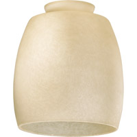 Quorum 2843 Signature Amber Scavo 6 inch Glass Shade