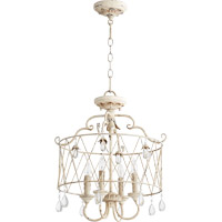 Quorum 2844-4-70 Venice 4 Light 18 inch Persian White Dual Mount Ceiling Light