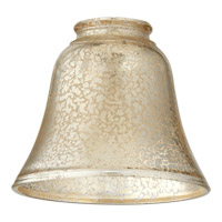 Quorum International Signature Glass Shade in Silver Mercury 2847