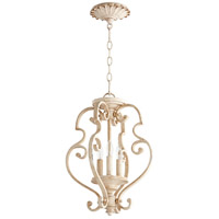 Quorum 2873-13-70 San Miguel 14 inch Persian White Dual Mount Pendant Ceiling Light