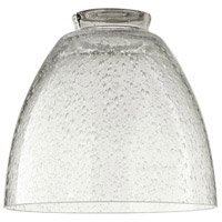 Quorum 2900 Signature Clear Seeded 6 inch Glass Shade  photo thumbnail