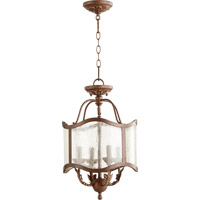 Quorum 2906-13-39 Salento 4 Light 13 inch Vintage Copper Dual Mount Ceiling Light