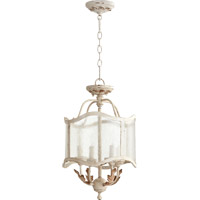 Quorum 2906-13-70 Salento 4 Light 13 inch Persian White Dual Mount Ceiling Light