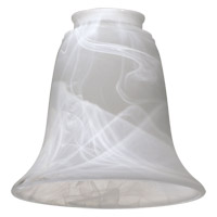 Quorum International Signature Glass Shade in Faux Alabaster 2915