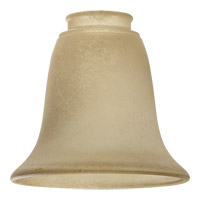 Quorum International Signature Glass Shade in Etruscan Slate and Amber 2915A