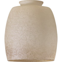Quorum International Signature Glass Shade in Etruscan with Amber Accent 2943A