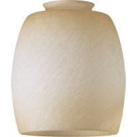 Quorum International Signature Glass Shade in Antique Amber Scavo 2943A3