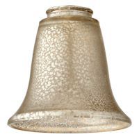 Quorum 2947 Signature Silver Mercury 6 inch Glass Shade