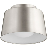 Quorum 3003-11-65 Trapeze 1 Light 11 inch Satin Nickel Flush Mount Ceiling Light