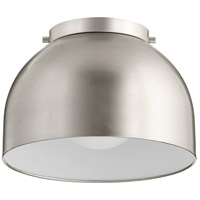 Quorum 3004-11-65 Dome 1 Light 11 inch Satin Nickel Flush Mount Ceiling Light