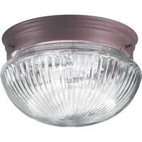Quorum 3012-6-33 Signature 1 Light 8 inch Cobblestone Flush Mount Ceiling Light