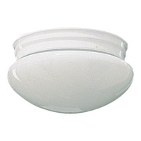 Quorum 3015-6-6 Signature 1 Light 7 inch White Flush Mount Ceiling Light