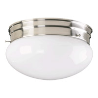 Quorum 3015-8-65 Signature 2 Light 10 inch Satin Nickel Flush Mount Ceiling Light