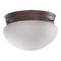 Quorum International Signature 1 Light Flush Mount in Cobblestone 3021-6-33