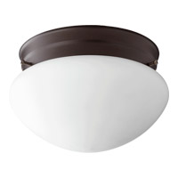 Quorum 3023-6-86 Signature 1 Light 7 inch Oiled Bronze Flush Mount Ceiling Light