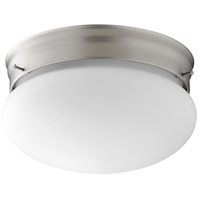 Signature 2 Light 10 inch Satin Nickel Flush Mount Ceiling Light