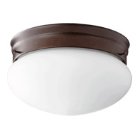 Quorum 3023-8-86 Signature 2 Light 10 inch Oiled Bronze Flush Mount Ceiling Light